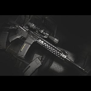 "Wilson Combat Urban Tactical .223 Remington/5.56 NATO 20-Round 16.25"" Semi-Automatic Rifle in Black - UT15A"