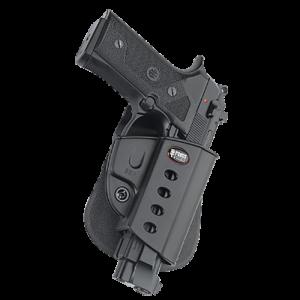 Fobus USA Evolution Right-Hand Multi Holster for Beretta Vertec/Taurus 92, 99 in Black (W/ Crimson Trace) - BRV