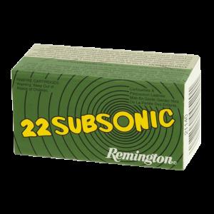 Remington 9mm Subsonic, 147 Grain (50 Rounds) - RSS9MM9