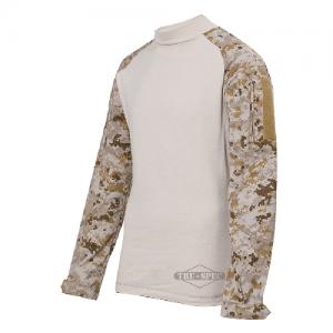 Tru Spec Combat Shirt Men's Long Sleeve Shirt in Desert Digital/Sand - X-Large