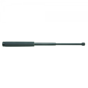 Detective Baton Material / Finish: Black Chrome Grip: SuperGrip Length: 16  Tip Style: Safety