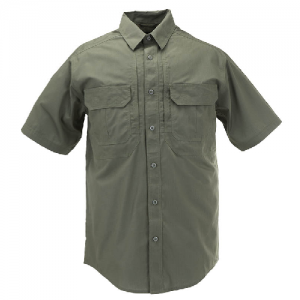 5.11 Tactical Pro Men's Uniform Shirt in TDU Green - 3X-Large