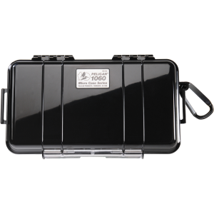 "Pelican 1060 Micro Case 8x4x2"" Watertight Black/Clear"