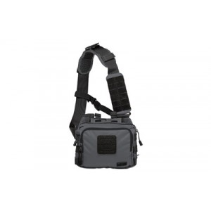 5.11 Tactical 2-Banger Carry All Bag Waterproof Range Bag in Double Tap Black 1050D Nylon - 56180