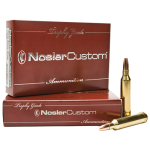 Nosler Bullets .243 Winchester E-Tip Lead-Free, 90 Grain (20 Rounds) -