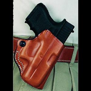 Desantis Gunhide Mini Scabbard Right-Hand Belt Holster for Springfield XD-S in Black - 019BAY1ZO