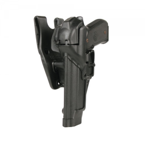 Level 3 SERPA Duty Holster Finish: Matte Gun Fit: Walther P99 Hand: Right - 44H124BK-R