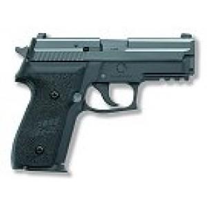 "Sig Sauer P229 Compact .40 S&W 10+1 3.9"" Pistol in Black Nitron (SIGLITE Night Sights) - 229R40BSS"