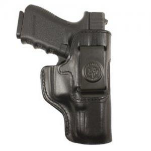 """Desantis Gunhide Inside Heat Left-Hand IWB Holster for Colt .380 Mustang, Pony in Black Leather (2.75"""") - 127BBP6Z0"""