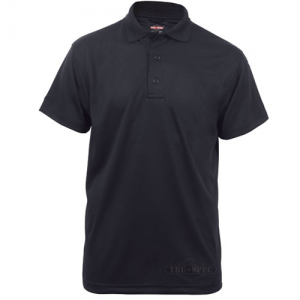 Tru Spec 24-7 Men's Short Sleeve Polo in Black - 2X-Large
