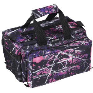 Bulldog Case Company Deluxe Range Bag Waterproof Range Bag in Muddy Girl Camo Nylon - BD910MDG