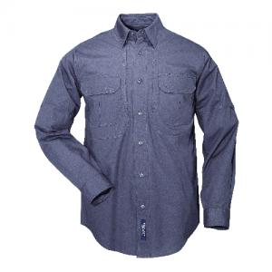 5.11 Tactical Tactical Men's Long Sleeve Uniform Shirt in Khaki - 2X-Large