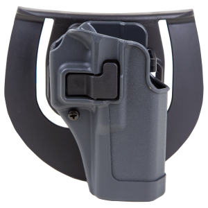 """Blackhawk Serpa Sportster Right-Hand Paddle Holster for Smith & Wesson M&P in Grey (5"""") - 413525BKR"""