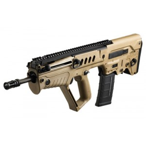 "IWI Tavor .300 AAC Blackout 30-Round 16.5"" Semi-Automatic Rifle in Flat Dark Earth (FDE) - TSFD16-BLK"