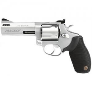 """Taurus Tracker .44 Remington Magnum 5-Shot 4"""" Revolver in Stainless (Model 44) - 2440049TKR"""