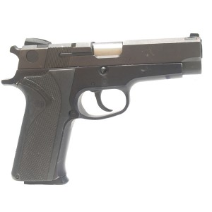 """Pre-Owned Smith & Wesson 910 9mm Luger (Parabellum) Semi-Automatic Pistol with 4"""" Barrel, 15+1 Capacity, and 15 Round Factory Magazine"""