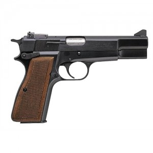 "Browning Hi Power 9mm 9+1 4.62"" Pistol in Blued (*CA Compliant*) - 51003493"