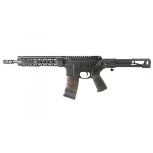 """Primary Weapons Systems MK1 .223 Wylde/5.56 NATO 30+1 11.8"""" AR Pistol in Black Aluminum (Mod 1) - M111PA1B"""