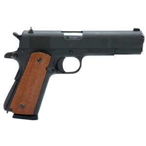 "American Tactical Imports FX45 .45 ACP 8+1 5"" 1911 in Carbon Steel (Mahogany Grips) - ATIGFX45MIL"