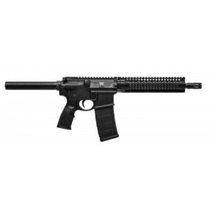 "Daniel Defense DDM4 MK18 Carbine Pistol .223 Remington/5.56 NATO 30+1 10.3"" Pistol in Matte Black - 02-088-MK18"
