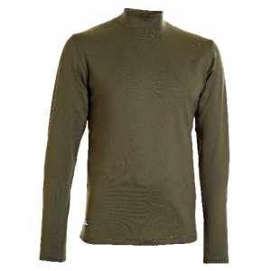 Under Armour Coldgear Infrared Men's Long Sleeve Compression Tee in Marine OD Green - 2X-Large