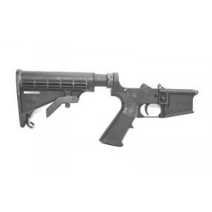 Ds Arms Zm4r Lower, Semi-automatic, 223 Rem/556nato, Black Finish, 6 Position Stock, Mil-spec Buffer Tube Zm4r8988-a