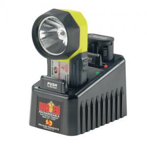 "Pelican Big Ed Flashlight in Black/Yellow (7"") - 3750-052-245"