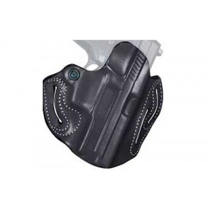 "Desantis Gunhide 2 Speed Scabbard Right-Hand Belt Holster for Ruger SP2022 in Black (3.88"") - 002BAS4Z0"