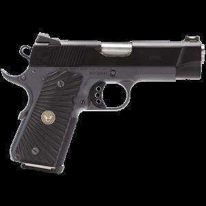 """Wilson Combat Bill Wilson .45 ACP 7+1 4"""" Pistol in Carbon Steel (Carry) - BWCCP45"""