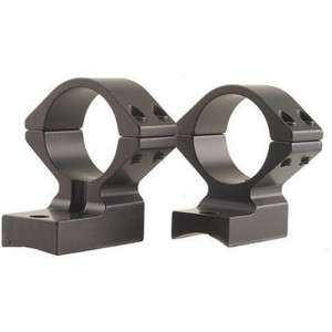 """Talley Black Anodized 1"""" Medium Rings/Base Set For Weatherby Vanguard 940734"""