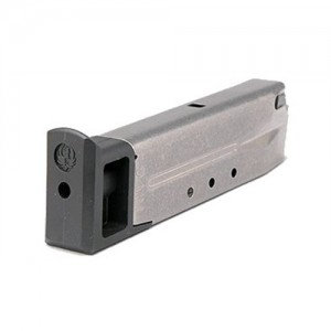 Ruger 9mm 10-Round Steel Magazine for Ruger P-Series - 90098