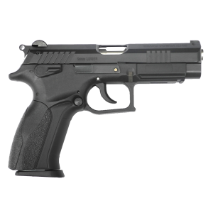 """Bersa K100 9mm 15+1 4.3"""" Pistol in Black Steel (9mm) - GPK100"""