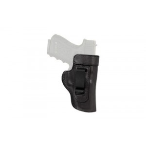 Don Hume H715-m Clip-on Holster, Inside The Pant, Fits S&wm&p Shield, Right Hand, Black Leather J167200r - J167200R