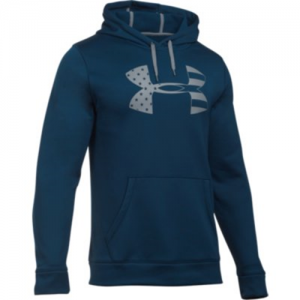 Under Armour Freedom Storm Tonal BFL Men's Pullover Hoodie in Academy - Large