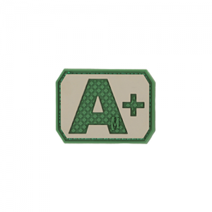 A+ POS Blood Type Patch