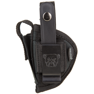 "Bulldog FSN8 Extreme Sz 8 Pistol Large Fits 3.5-5"" Black Nylon - FSN8"