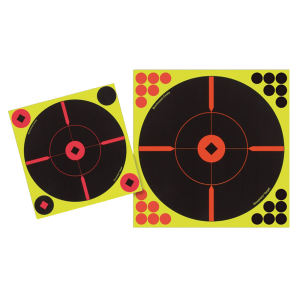 Birchwood Casey 34015 Shoot-N-C Self-Adhesive Targets Round X-Target 5 Pack 120