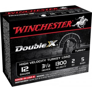 """Winchester Supreme Double X Turkey .12 Gauge (3.5"""") 4 Shot Lead (10-Rounds) - STH12354"""