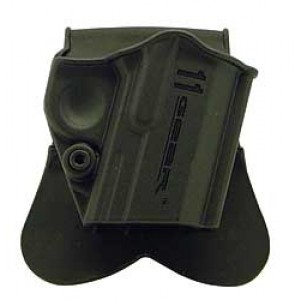 Springfield Paddle Holster, Fits 1911, Right Hand, Black Ge51ph1 - GE51PH1