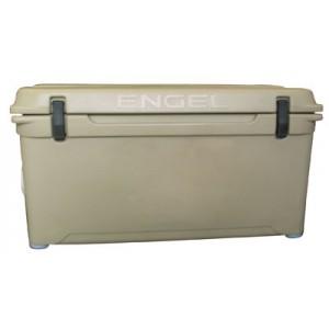 Engel USA DeepBlue Cooler 65 Quart Storage Cooler 8-10 Day Cooling Time Tan ENG65T