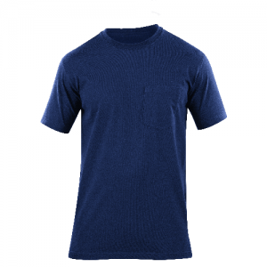 5.11 Tactical Professional Pocketed Shirt Men's T-Shirt in Fire Navy - Small