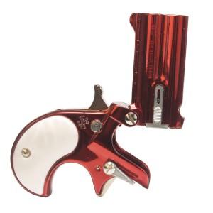 "Cobra Enterprises C22RDP .22 Long Rifle 2-Shot 2.4"" Derringer in Ruby Red W/Pearl - C22RDP"