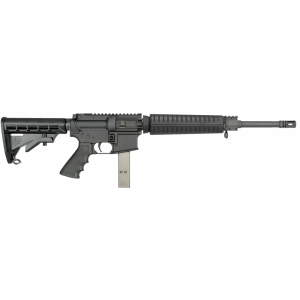 """Rock River Arms LAR-15 A4 Mid-Length System AR-15 9mm 30-Round 16"""" Semi-Automatic Rifle in Black - 9MM1855"""