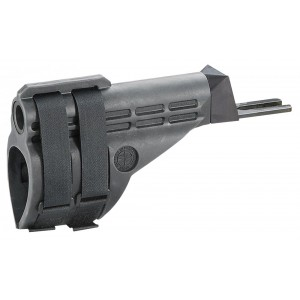 CIA Century International Arms Inc SB-47 Stabilizing Brace AK-Style Pistols (Fits all PAP, Draco and C39) Polymer Black with 2 Adjustable Stabilizing Straps OT1648