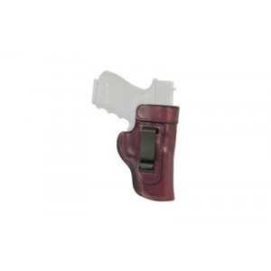 Don Hume H715-m Clip-on Holster, Inside The Pant, Fits Glock 43, Right Hand, Brown Leather J169190r - J169190R