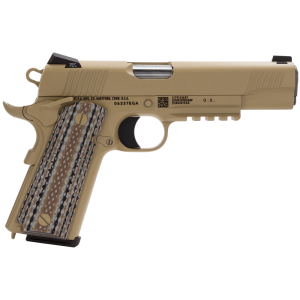 "Colt CQBP .45 ACP 7+1 5"" 1911 in Stainless Steel (Marine) - O1070CQB"