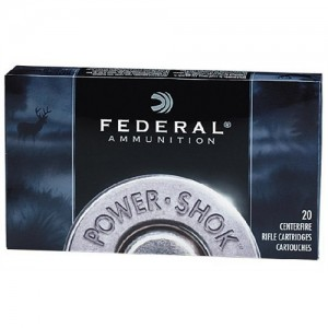 Federal Cartridge Power-Shok Medium Game .223 Remington/5.56 NATO Jacketed Soft Point, 64 Grain (20 Rounds) - 223L
