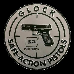 Glock AD00060 Safe Action Sign Aluminum Silver/Black