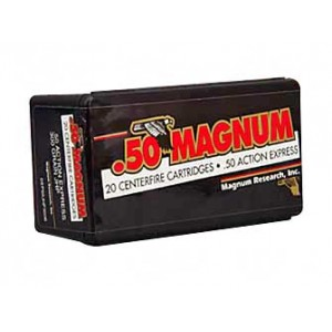 Magnum Research Blount .50 AE Jacketed Hollow Point, 300 Grain (20 Rounds) - DEP50JHP300B