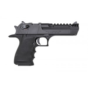 "Magnum Research Desert Eagle .44 Remington Magnum 8+1 5"" Pistol in Black Aluminum - DE44L5IMB"